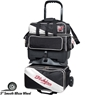 KR Strikefore Fast 4 Ball Roller Bowling Bag- Black/White