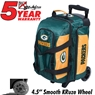 Green Bay Packers 2 Ball Roller Bowling Bag