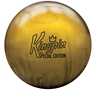 Brunswick KingPin Special Edition Bowling Ball- Gold Pearl