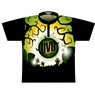 DV8 Dye-Sublimated Jersey -Green/Yellow