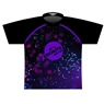 Ebonite Dye-Sublimated Jersey - Purple/Black