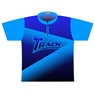 Track Dye-Sublimated Jersey - Navy/Teal