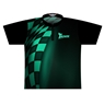 Track Dye-Sublimated Jersey - Black/Green