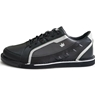 Brunswick Mens Punisher Bowling Shoes Right Hand- Black/Silver