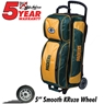 Green Bay Packers 3 Ball Roller Bowling Bag