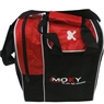 Moxy Strike Single Tote Bowling Bag- Red/Black