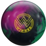 Roto Grip Winner Solid Bowling Ball- Black/Purple/Green
