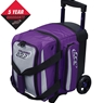 Columbia 300 Icon Single Roller Bowling Bag- Purple/Silver