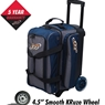 Columbia 300 Icon Double Roller Bowling Bag-Navy/Charcoal
