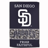 "San Diego Padres Sublimated Cotton Towel- 16"" x 25"""