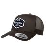 Storm Trucker Patch Hat - Black