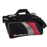 900 Global 2 Ball Travel Tote Black/Red/Silver
