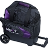 Moxy Candlepin Deluxe Roller Bowling Bag- Purple/Black
