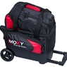 Moxy Candlepin Deluxe Roller Bowling Bag- Red/Black