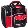 Moxy Candlepin Deluxe Tote Bowling Bag- Purple/Black