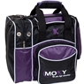 Moxy Duckpin Deluxe Tote Bowling Bag- Purple/Black