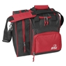 BSI Deluxe Single Ball Bowling Bag- Red