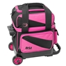 BSI Prestige Single Roller Bowling Bag- Black/Pink