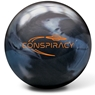 Radical Conspiracy Pearl Bowling Ball- Black/Teal Pearl