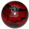 "Duckpin Cobra Pro Rubber Bowling Ball 4 3/4""- Red/Black"