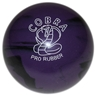 "Duckpin Cobra Pro Rubber Bowling Ball 4 3/4""- Purple/Black"