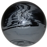 "Duckpin Cobra Pro Rubber Bowling Ball 4 3/4""- Grey/Black"