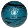 "Duckpin Cobra Pro Rubber Bowling Ball 4 3/4""- Teal/Black"