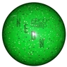 "Duckpin EPCO Neon Speckled Bowling Ball 4 3/4""- Green"