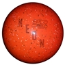 "Duckpin EPCO Neon Speckled Bowling Ball 4 7/8""- Orange"
