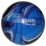 "Duckpin EPCO Urethane Bowling Ball 4 7/8""- Purple/Blue/Mint"