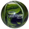 "Duckpin EPCO Urethane Bowling Ball 5""- Green/White/Navy"