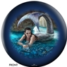 Anne Stokes Mermaid/Hidden Depths Forest Bowling Ball