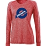 Ebonite Ladies Electrify 2.0 V-Neck Long Sleeve Shirt