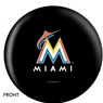 Miami Marlins Bowling Ball