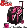 KR Cruiser Smooth Double Roller Bowling Bag- Pink