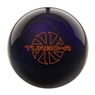 Ebonite Turbo/R Bowling Ball- Purple/Black