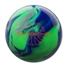 Ebonite Turbo/R Bowling Ball- Blue/Green/Silver