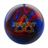 Ebonite Destiny Pearl Bowling Ball- Black/Red/Blue