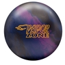 Brunswick Vapor Zone Solid Bowling Ball- Plum/Navy/Black
