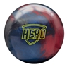 Brunswick Hero Bowling Ball- Crimson/Indigo/Charcoal