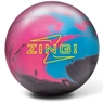 Radical Zing Bowling Ball- Pink/Neon Blue/Black
