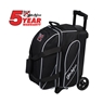 KR Fast Double Roller Bowling Bag- Black