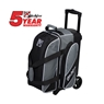 KR Fast Double Roller Bowling Bag- Charcoal