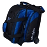 KR Cruiser Locker Double Roller Bowling Bag - Black/Royal