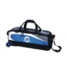 Ebonite Players Slim 3 Ball Tote Bowling Bag - Royal/White