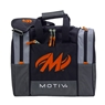 Motiv Shock Single Deluxe Tote Bowling Bag- Black/Orange