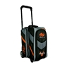 Motiv Vault 2 Ball Roller Bowling Bag- Black/Orange