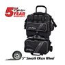 KR Lane Rover Sport 4 Ball Bowling Bag- Black