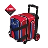 Columbia 300 Icon Single Roller Bowling Bag- Red/White/Blue