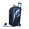 KR Strikeforce Cruiser Triple Roller Bowling Bag- Royal